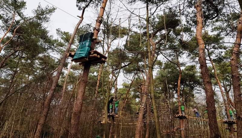Klimrijk Brabant aerial ropes course