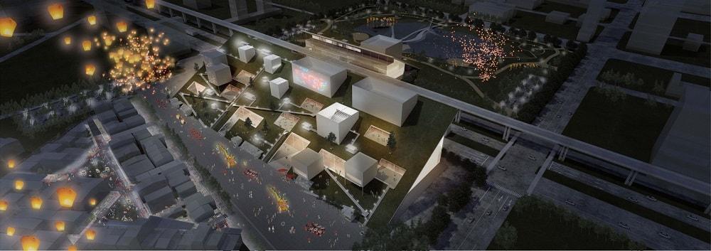 Taoyuan Museum of Art in Taiwan