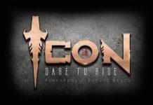 Icon roller coaster logo