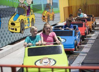 Camp Snoopy at Carowinds. Cedar Fair