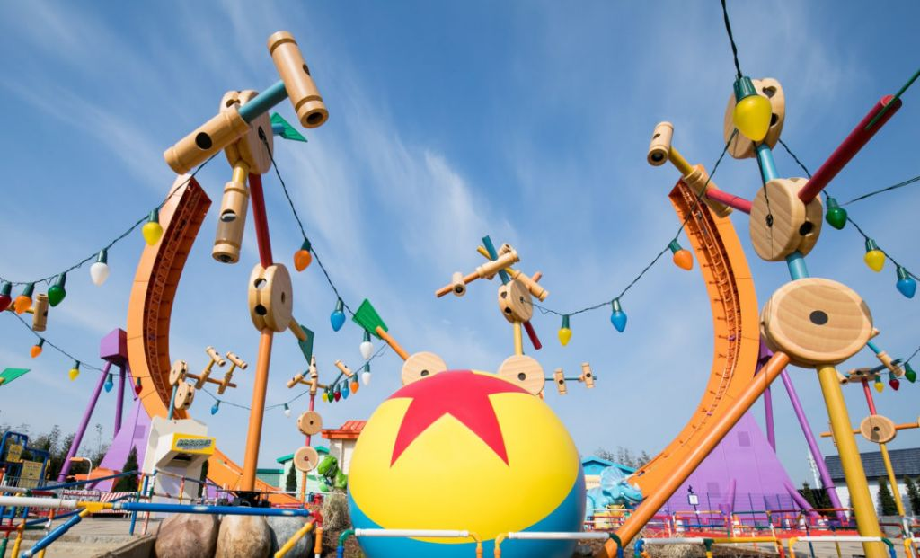Installation Of Toy Story Rides Complete At Shanghai Disneyland