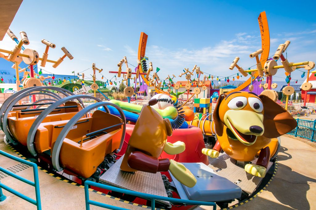 Slinky Dog Spin in Toy Story Land at Shanghai Disneyland