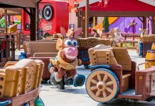 Installation of Toy Story Land rides complete at Shanghai Disneyland
