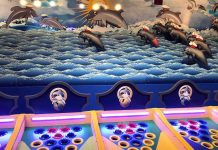 dolphin derby game by elton games at circus circus hotel & casino, reno