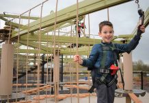 Puxton Park opens new high ropes and junior ropes courses from Innovative Leisure