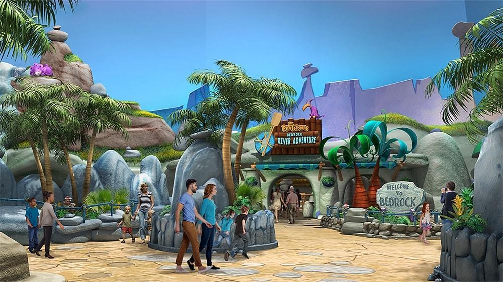Bedrock at Warner Bros World Abu Dhabi