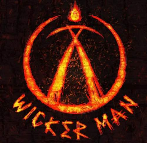 wicker man logo alton towers