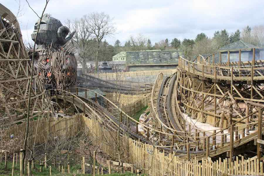 wicker man alton towers resort daytime woodie