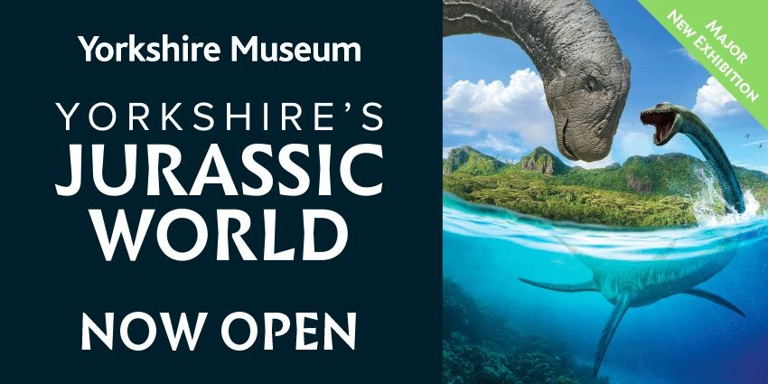 yorkshire's jurassic world yorkshire museum