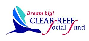 logo social fund clear reef background
