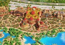 Ideattack designs for Evergrande Fairytale World theme park