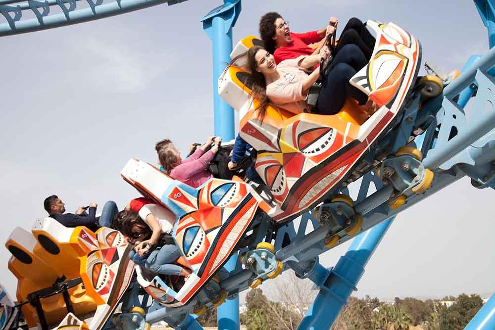 EOS Rides supply animatronic King Kong and spinning coaster to CarthageLand Tunisia