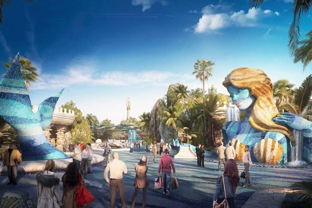 Mermaid Shanghai Haichang Ocean Park, designed by Legacy | GGE 86