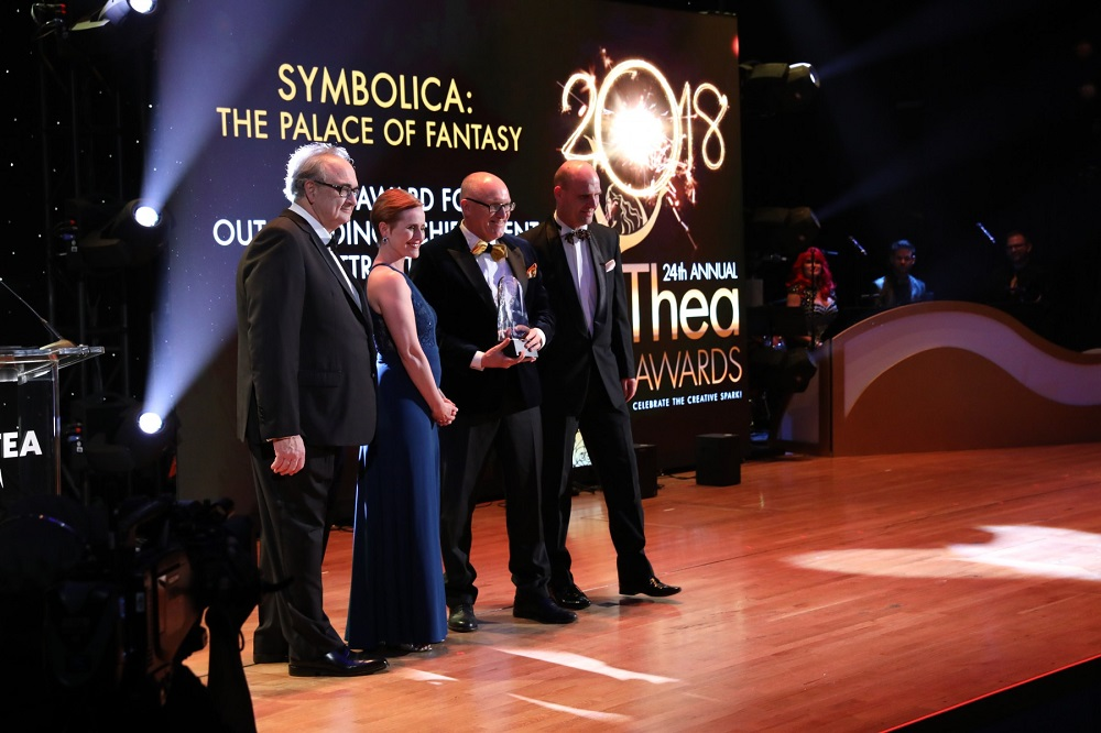 Efteling wins Themed Entertainment Assosiation TEA Thea award for Symbolica