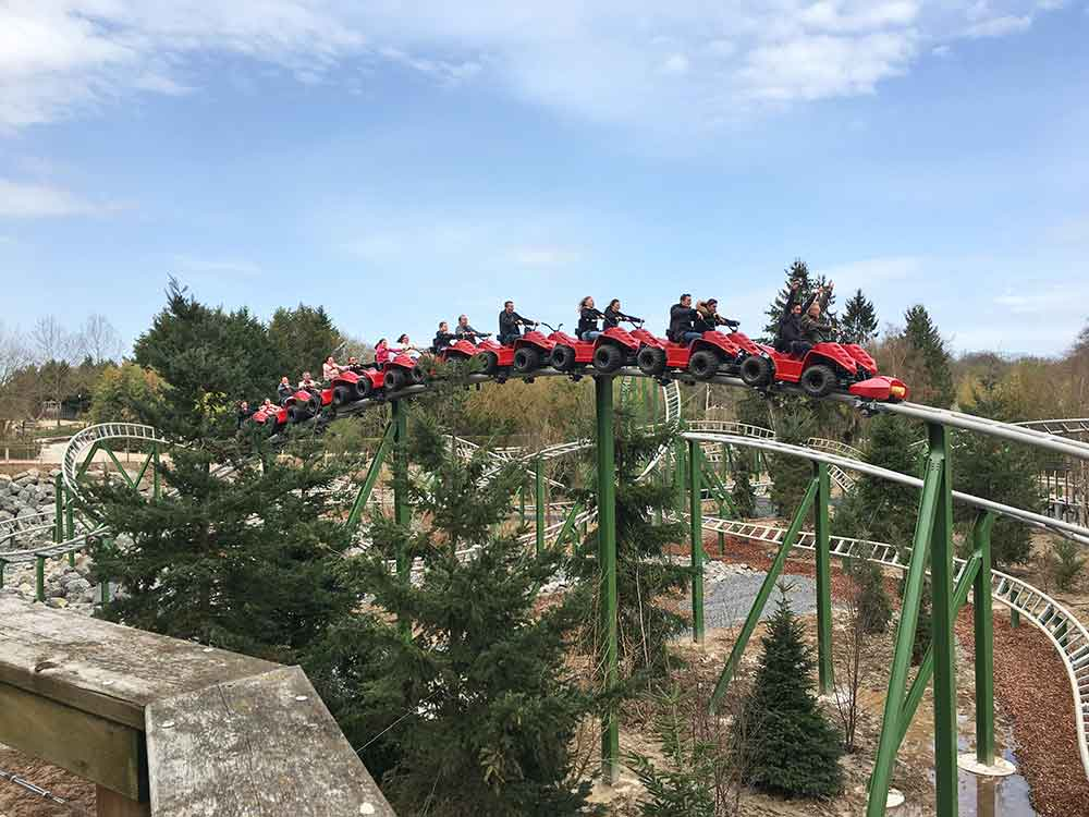 "Intamin supplies ""Yukon Quad"" family launch coaster to Parc Le Pal, France"