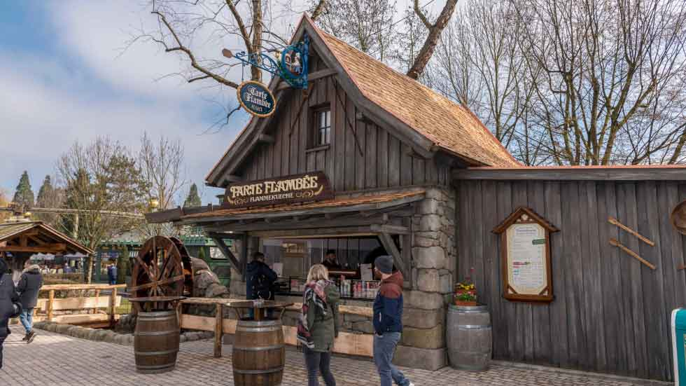 """We know that it is not easy building an authentic looking water mill, as specific knowledge is needed about the right use of materials and construction so the balance of the water mill is equal all the way around, in order to keep the mill running"" says Chris Lange, Creative Director at Europa-Park."