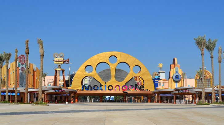 Motiongate Dubai DXB Entertainments, Dubai parks and resorts