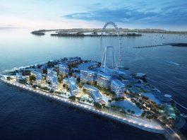 Bluewaters Island Dubai to house Ceasars Palace