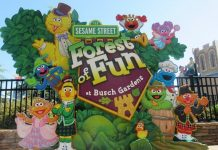 Sesame street at Busch Gardens Williamsburg