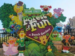 Sesame street at Busch Gardens Williamsburg