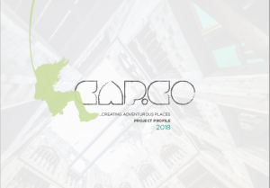 We are CAP.Co Creating Adventurous Places 2018...