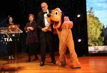 Phil Hettema_Nancy Seruto_Pluto TEA Thea Awards 2018 Phillip Faraone