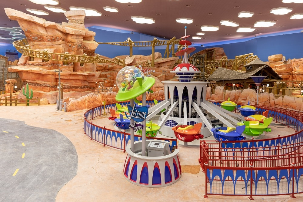Dynamite Gulch at Warner Bros World Abu Dhabi