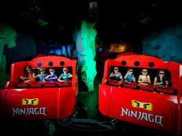triotech ninjago the ride