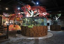 Greater Cleveland Aquarium renovation project.