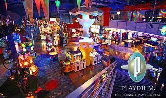 Playdium entertainment centre from Cineplex rec room