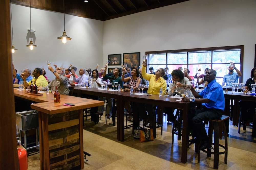 Joy Spence Appleton Estate Rum Experience tasting room