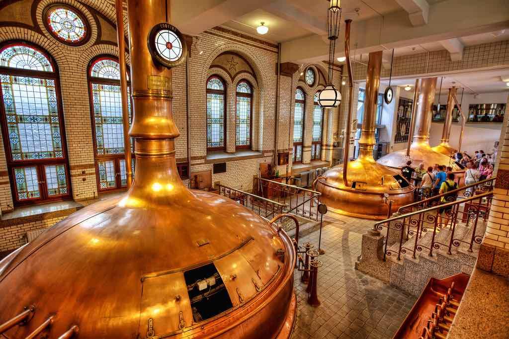 Heineken Experience interior brewery a (1)