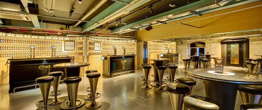 Guinness Storehouse_4th floor - academy bar brand homes