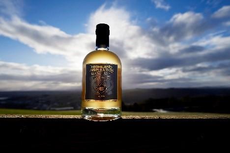 glen wyvis whisky bottle