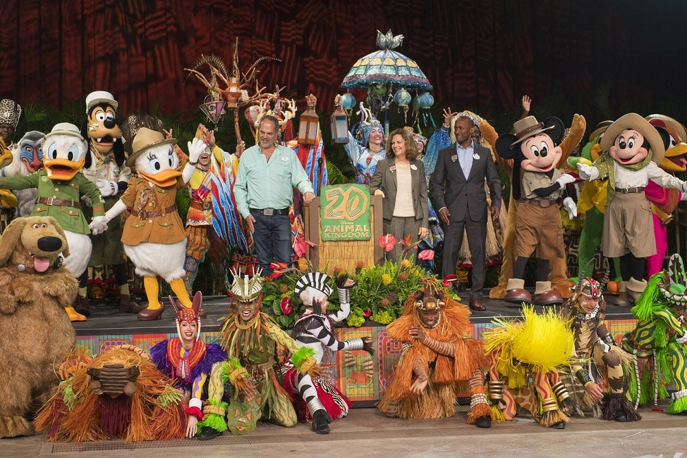 Disney S Animal Kingdom Celebrates 20th Anniversary Blooloop