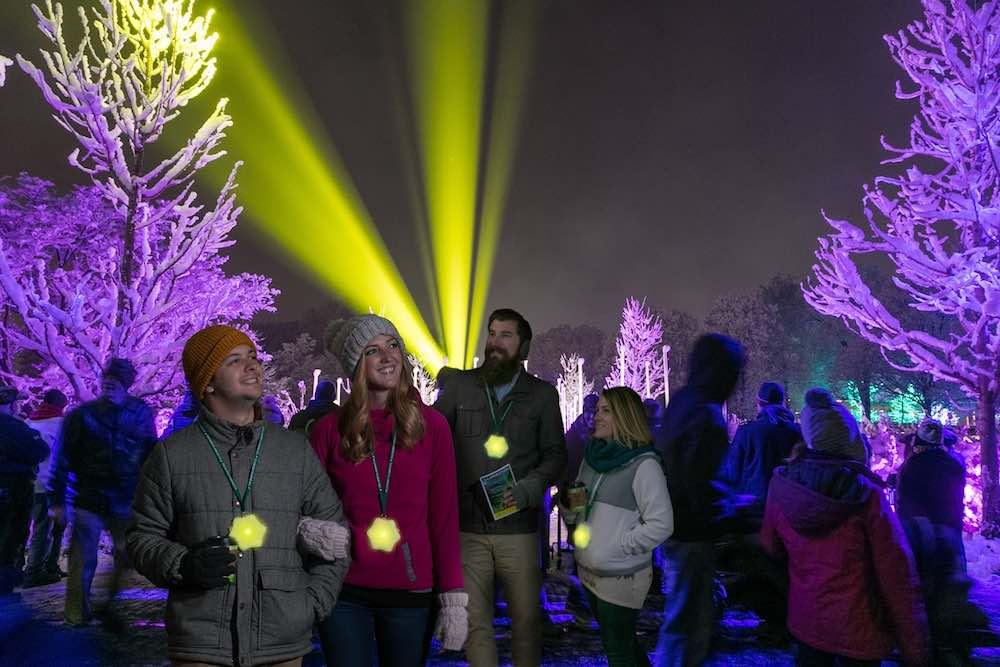 illuminations at morton arboretum