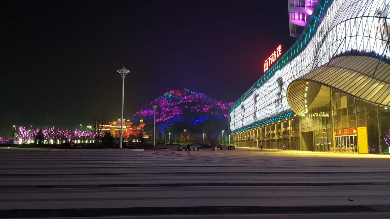 entrance oriental movie metropolis qingdao