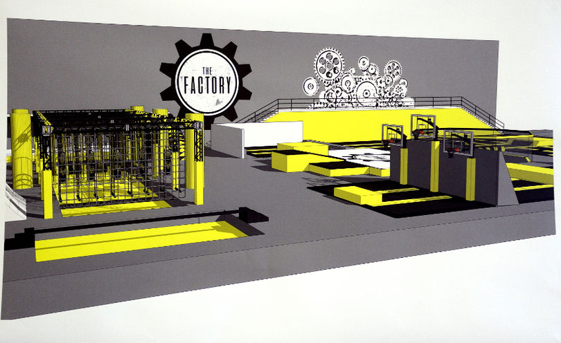 The Factory indoor adventure park and family entertainment centre
