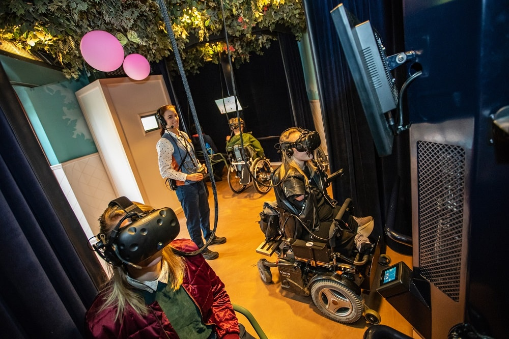 Virtual Droomvlucht at Efteling uses VR for disabled guests