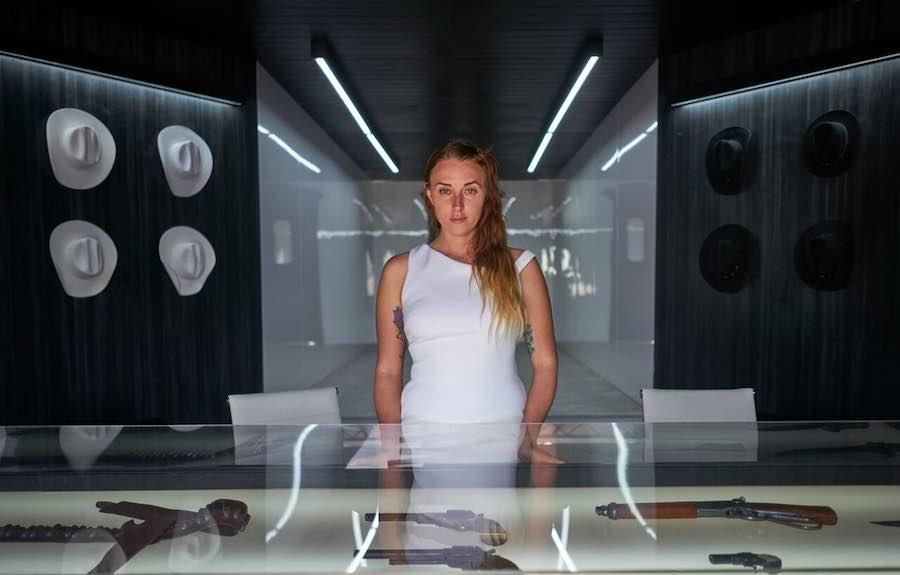 woman in white Portal westworld sxsw hbo a