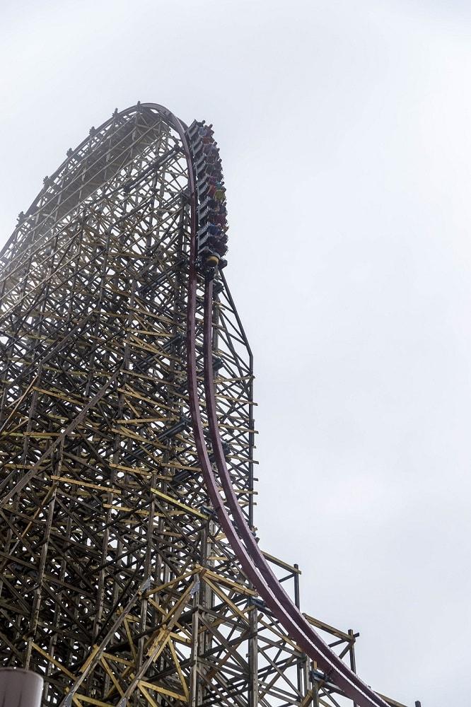 Steel Vengeance hyper-hybrid roller coaster Cedar Point