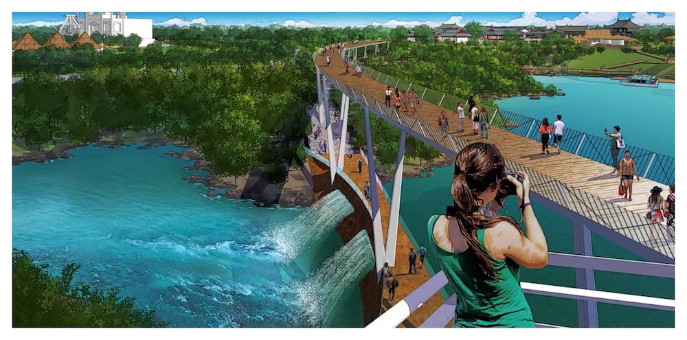 walkway photographer Jingshui River Park project zengzhou china forrec a (1)