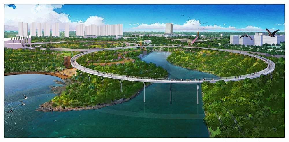 OCT zenghou walkway Jingshui River Park project zengzhou china forrec b (1)