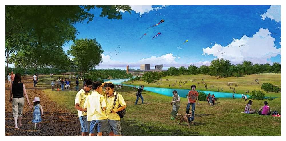 Jingshui River Park Project meadows