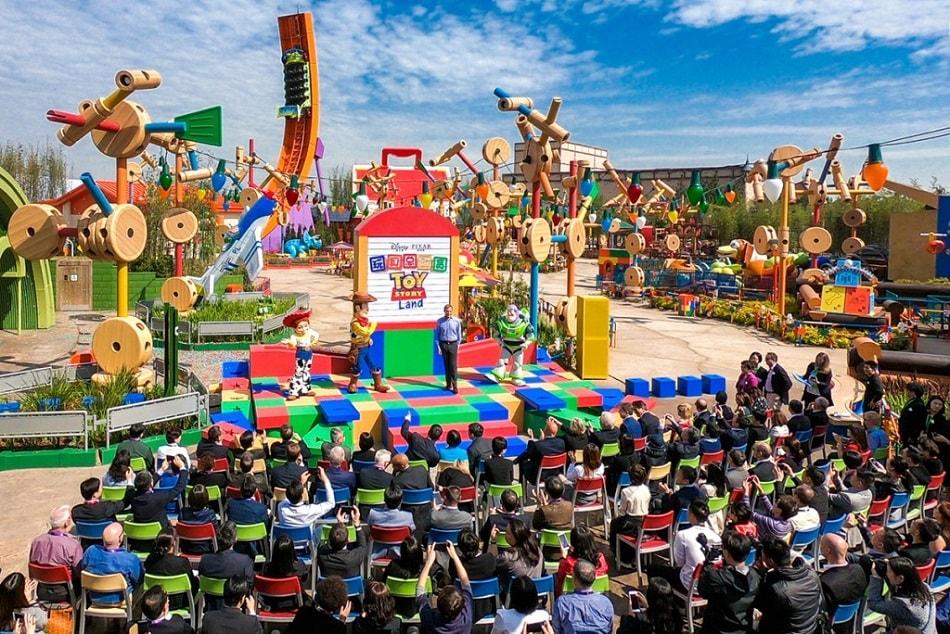 Toy Story Land at Shanghai Disneyland in Shanghai Disney Resort