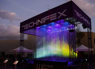 technifex flowscreen water effects