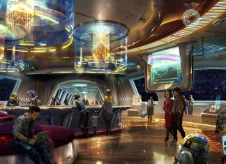 star wars hotel disney lobby