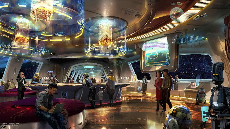 Star Wars Hotel New Themed Land At Disney Hollywood Studios
