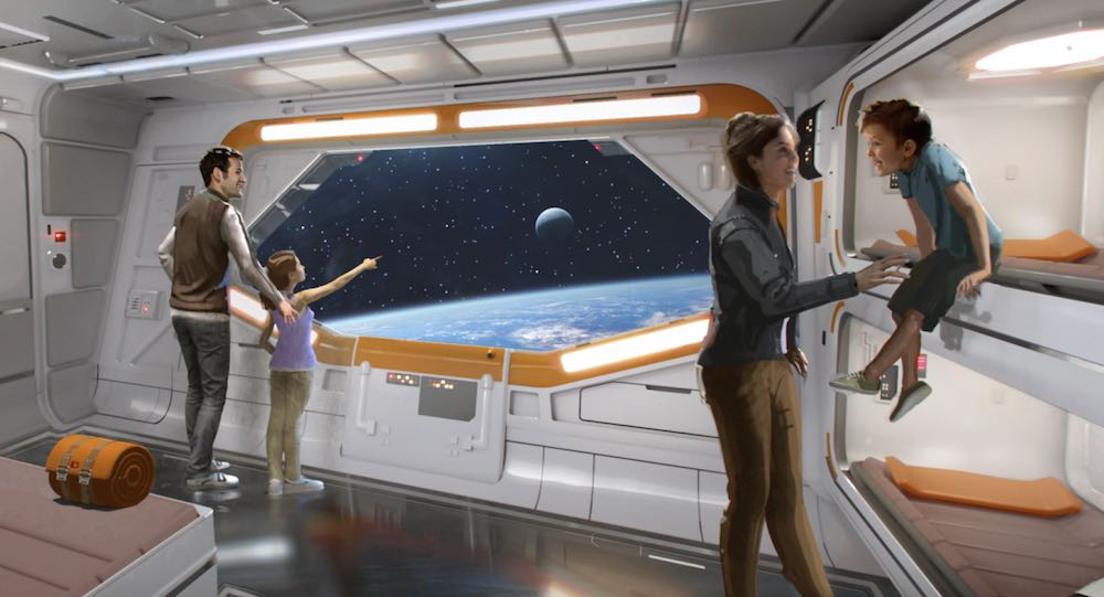 star wars hotel bedroom