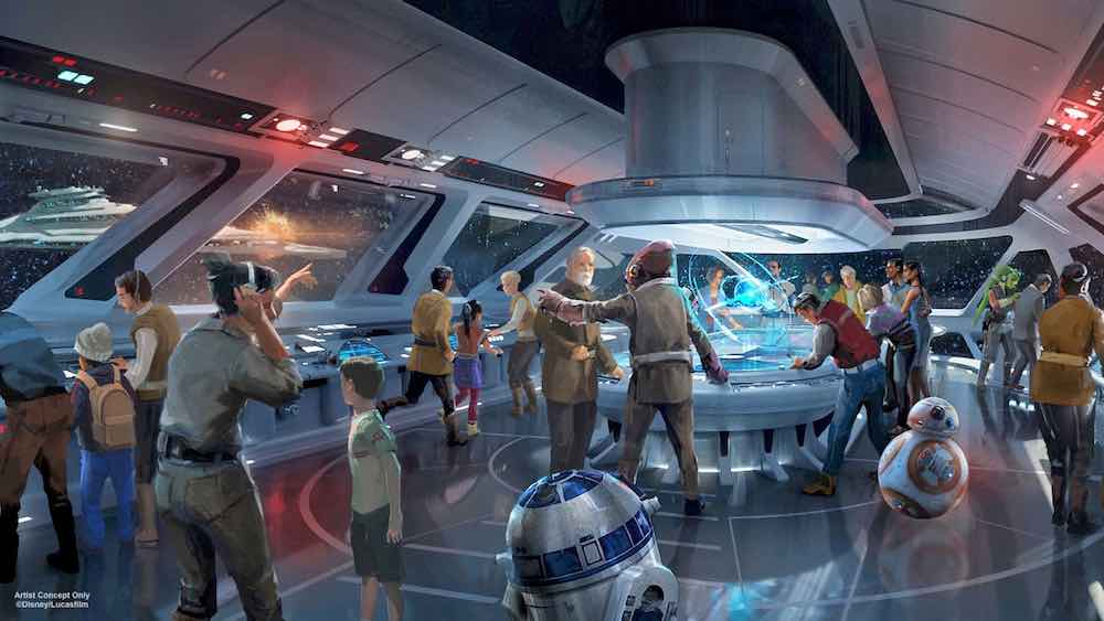 star wars hotel flight deck